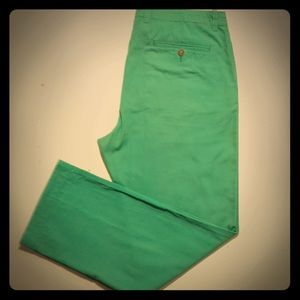 Men's Green Chino Pants J.Crew Size 34 X 30